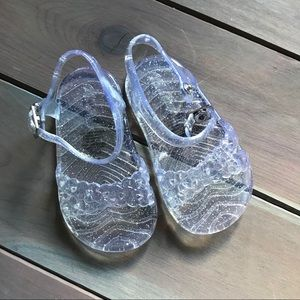 Other - Girls clear jelly shoes sandals size 3